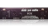 Slate Pro Audio FOX - rear