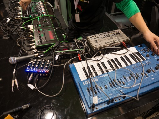 Musikmesse2014 Roland AIRA SYNC BOX