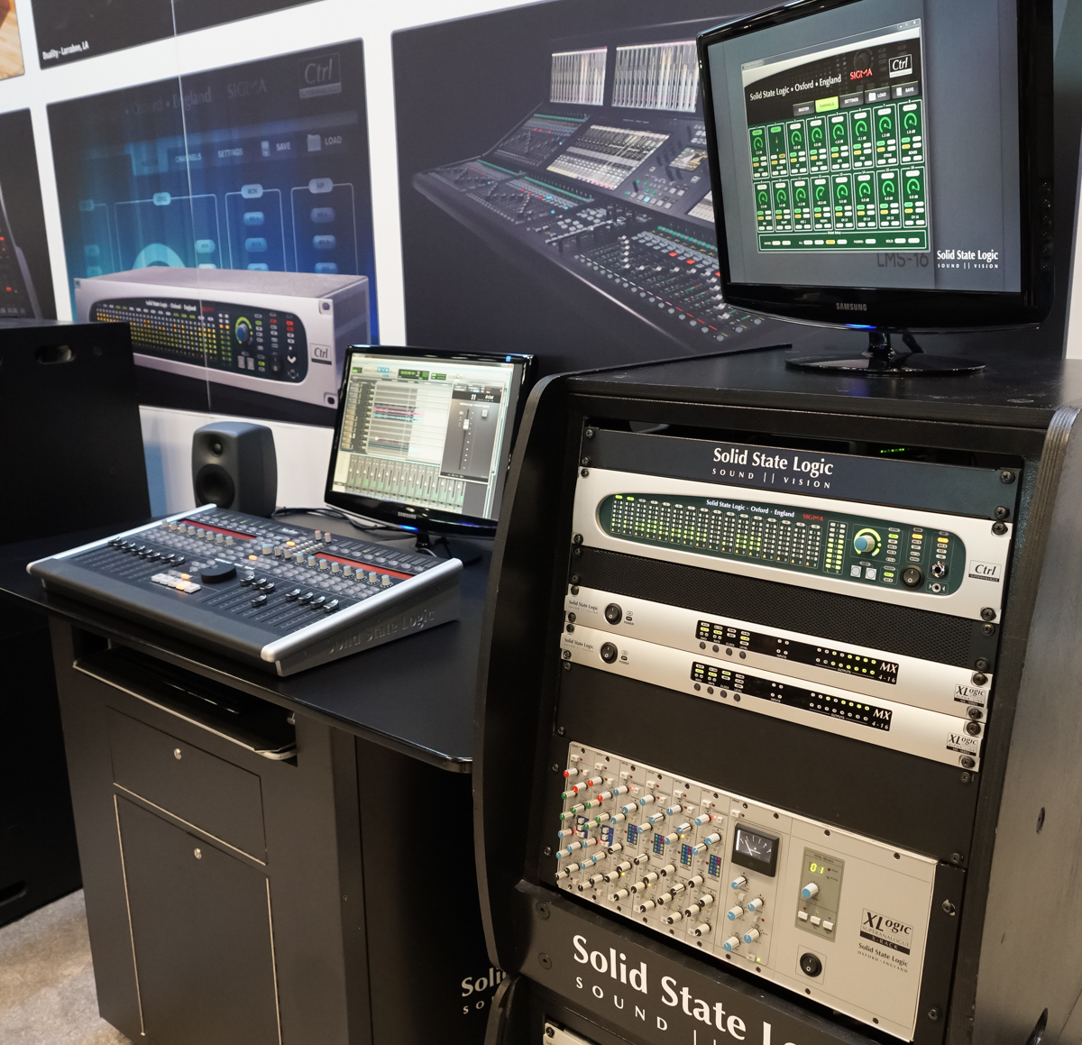 AES2015 Day1 : Solid State logic Sigma Delta