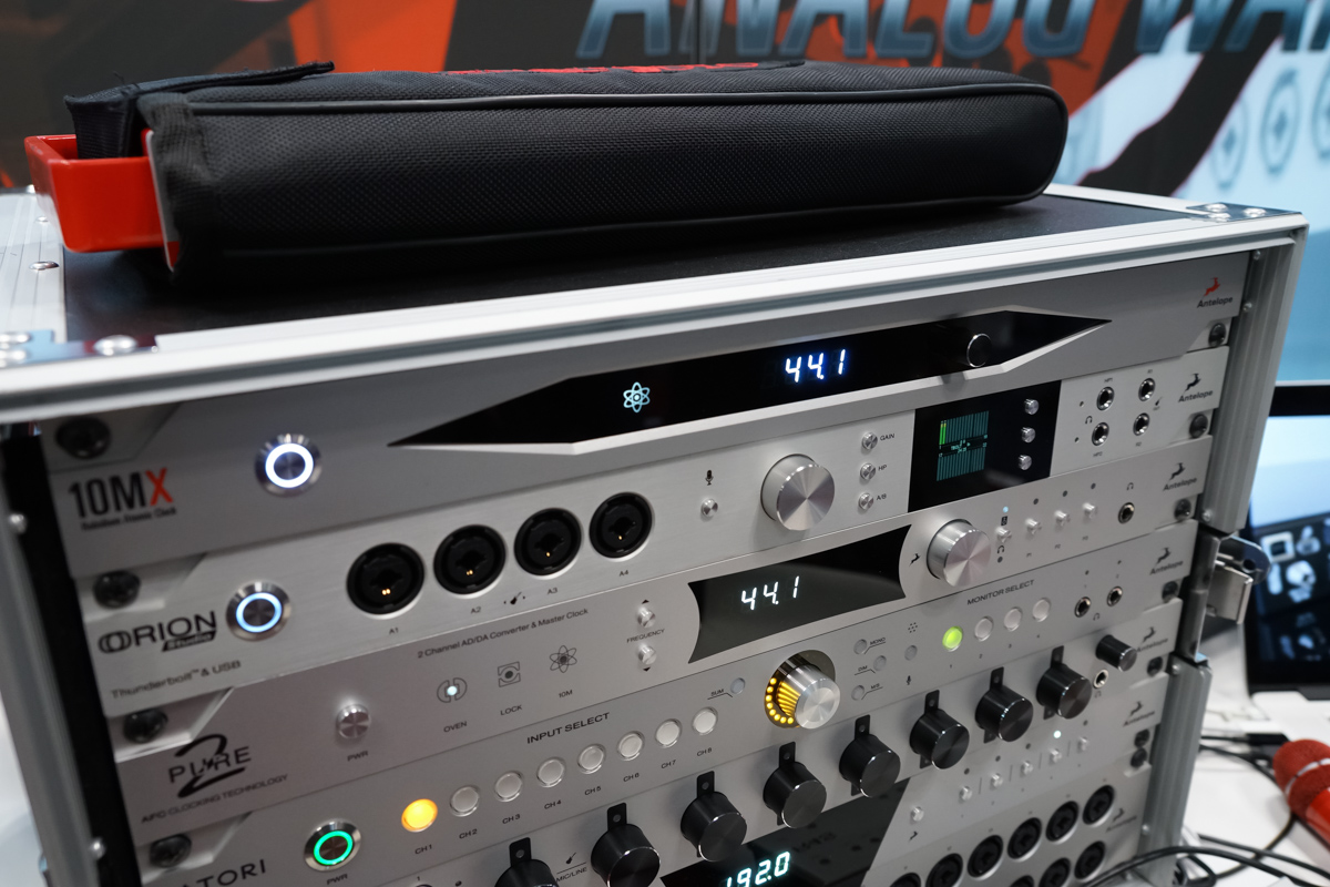 AES2015 Day1 : Antelope Audio