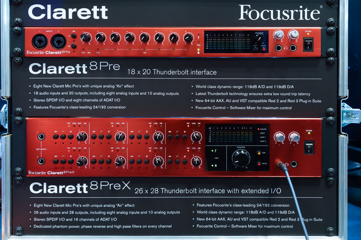 AES2015 Day1 : Focusrite