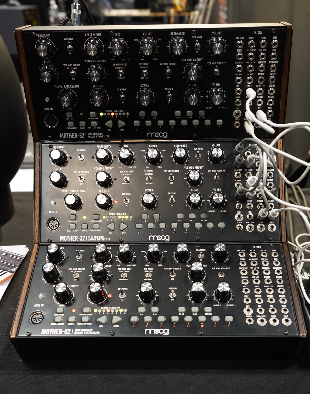 Moog Mother-32 at aes2015