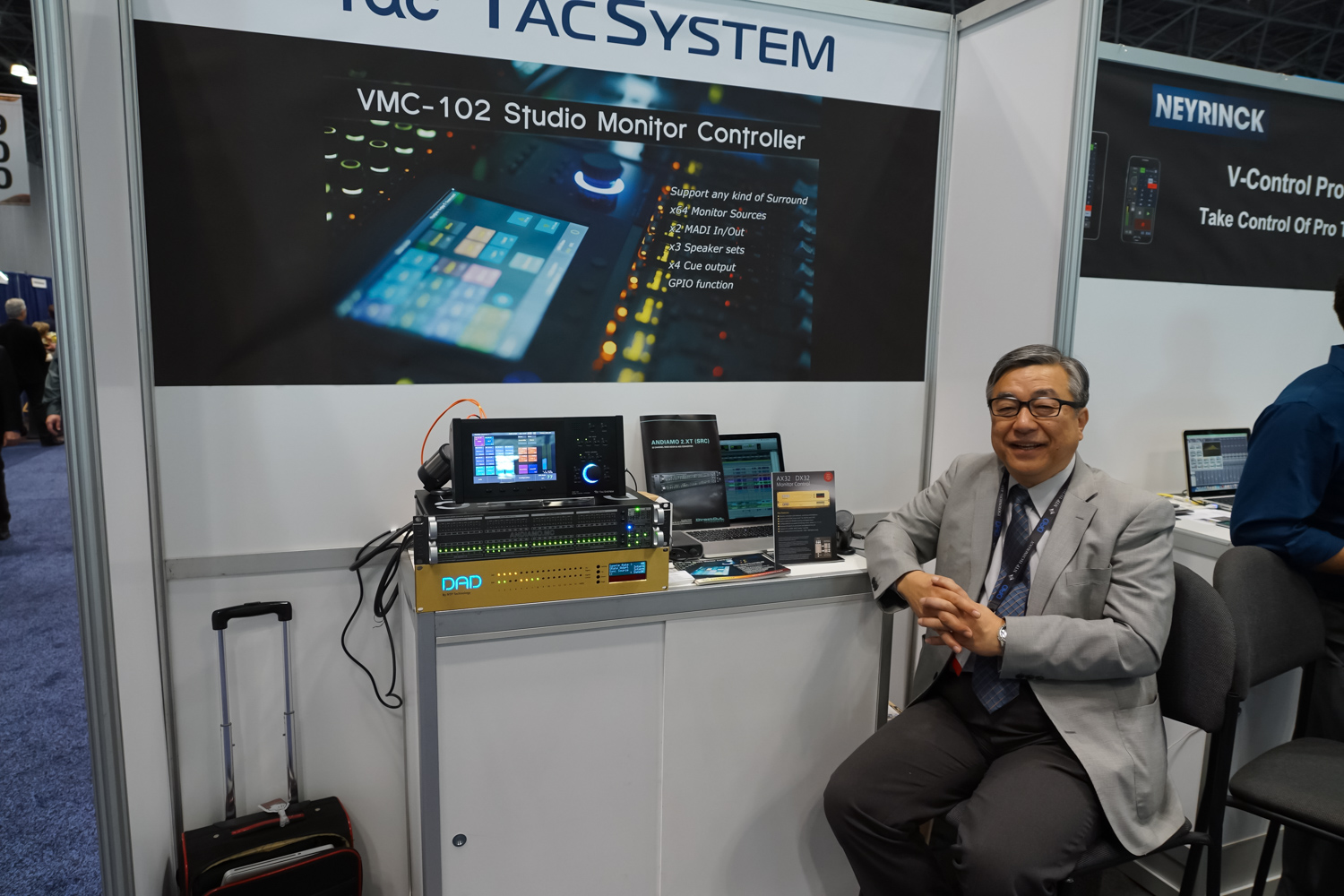 AES2015 Day2 : TAC SYSTEM