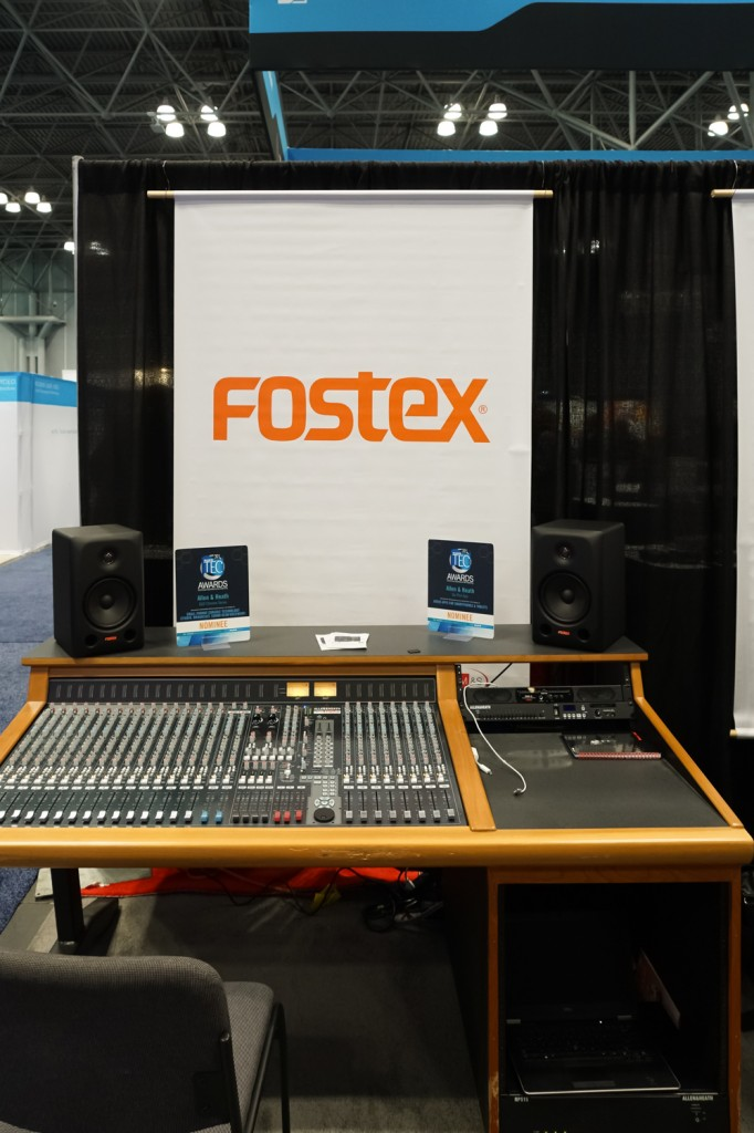 AES 2015 Rock oN FOSTEX