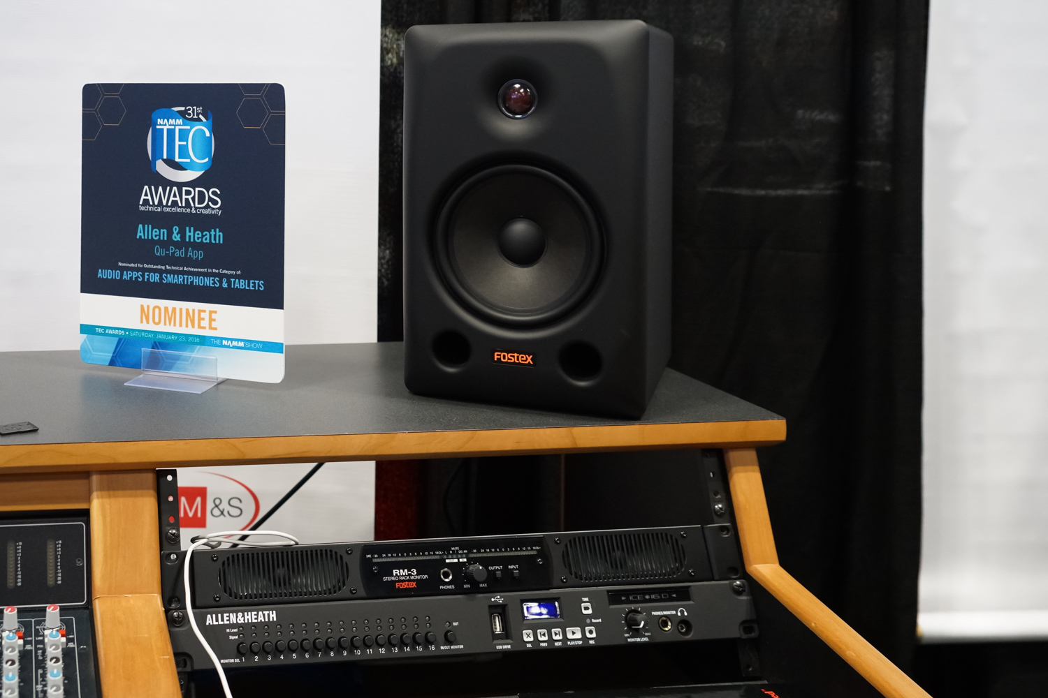 AES2015 Day3 : FOSTEX