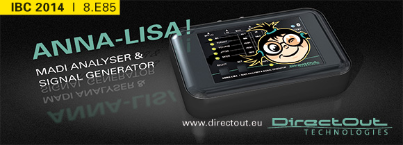 IBC 2014 直前Info:DirectOut Technologies