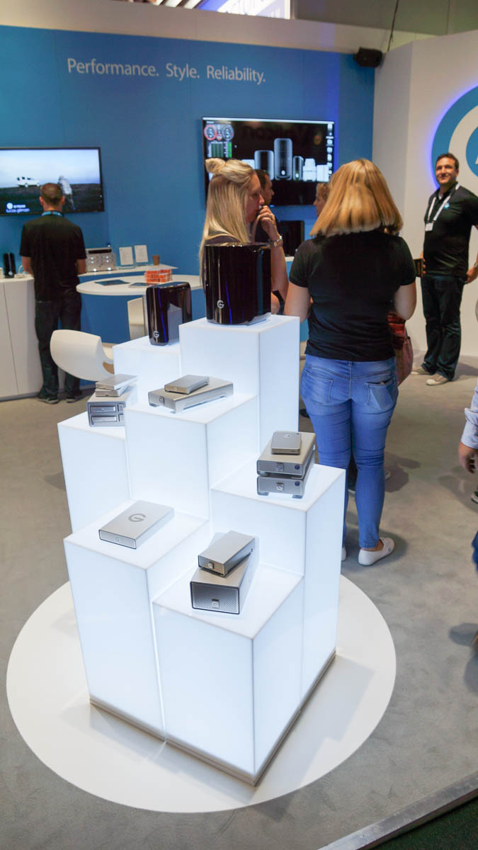 IBC 2014 : G-Technologies