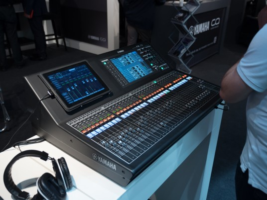 YAMAHA at IBC 2014