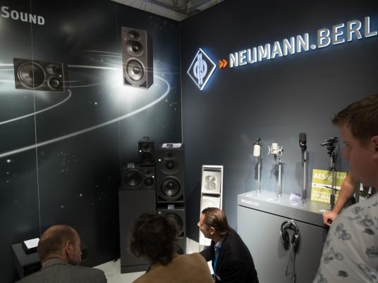 Neumann at IBC 2014