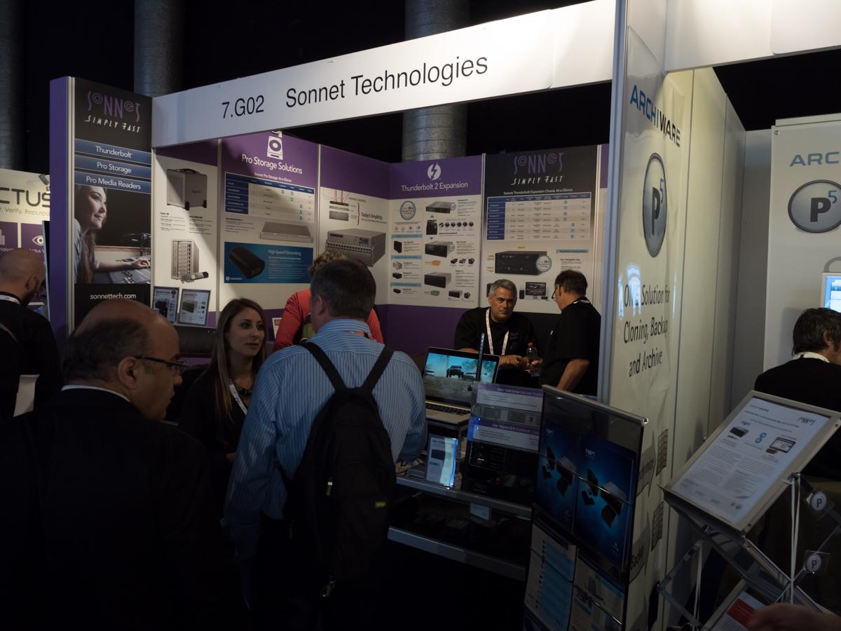 IBC 2014 : Sonnet Technologies