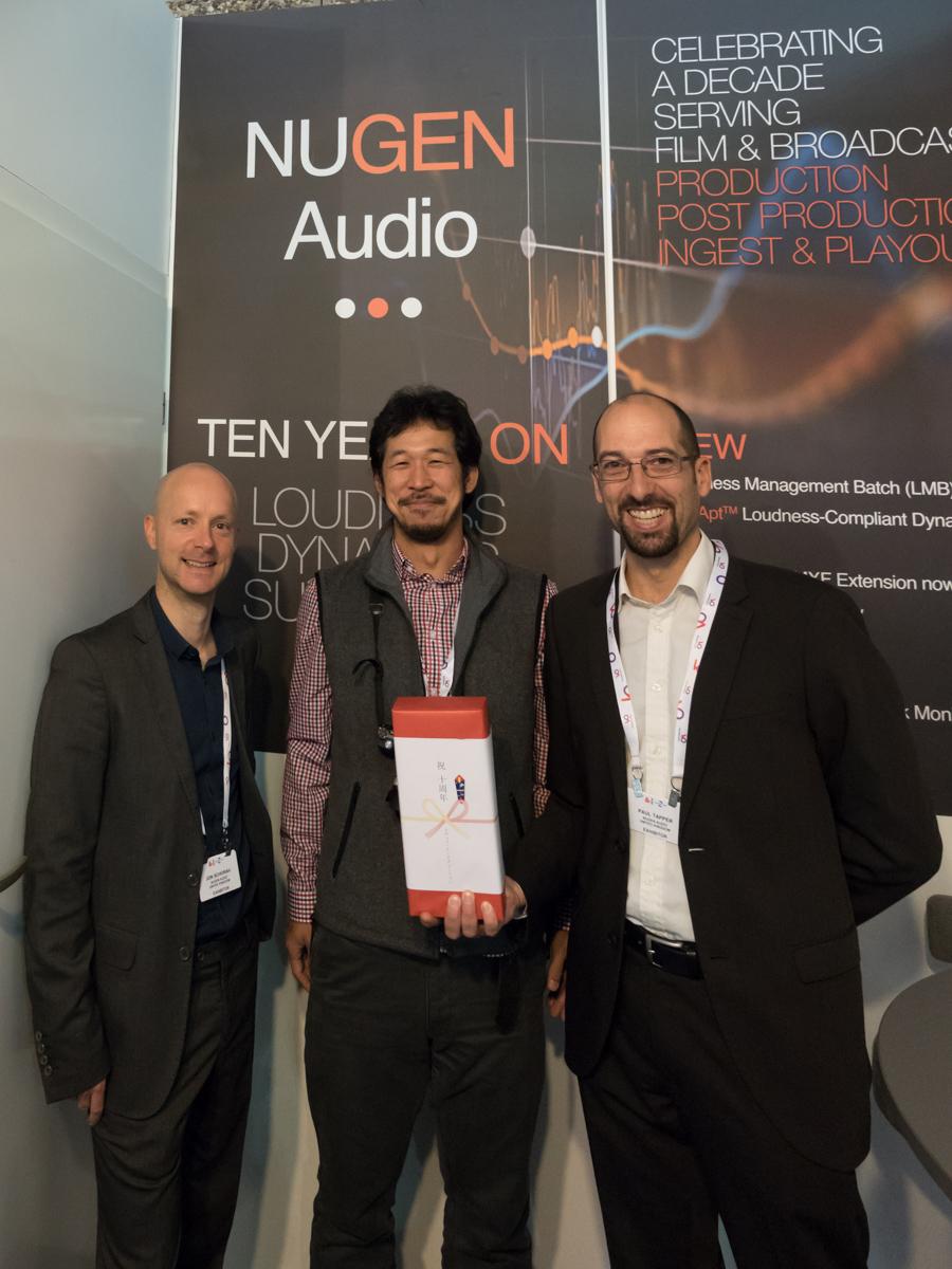 IBC 2014 : Nugen Audio