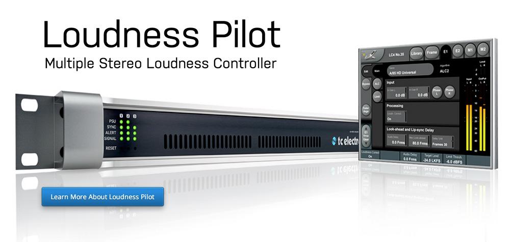 IBC 2014 直前Info:TC electronic Loudness Pilot