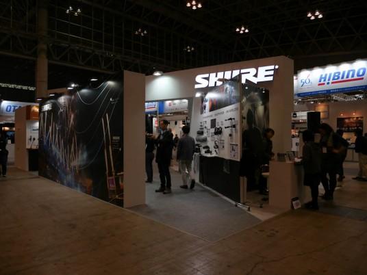 InterBEE 2014 Shureブース