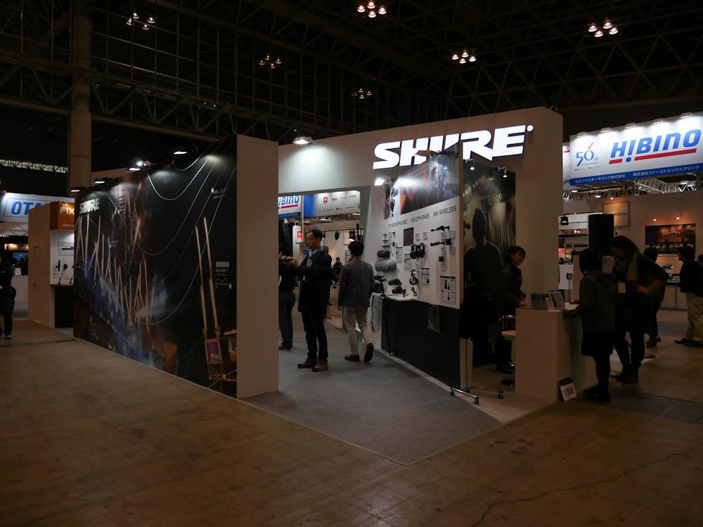 InterBEE 2014 : SHURE