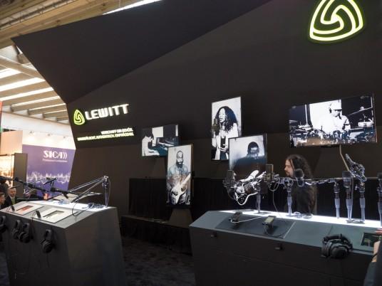 Musikmesse2014 LEWITTブース