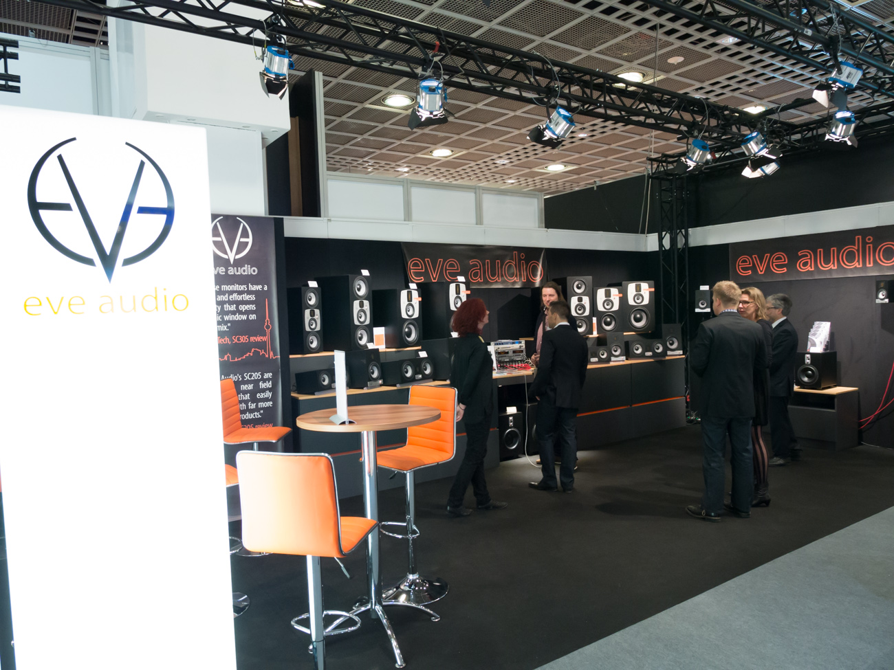 Musikmesse 2014 : EVE Audio (2)