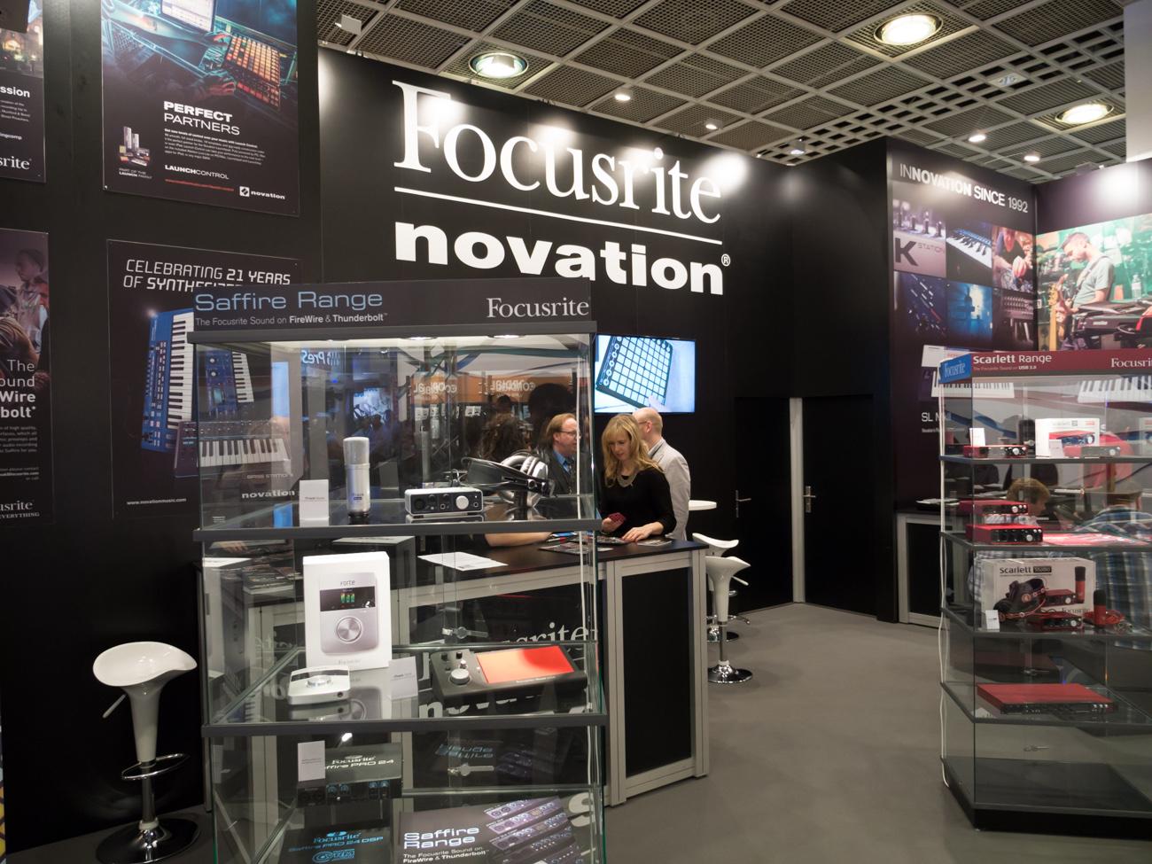 Musikmesse 2014 : Focusrite
