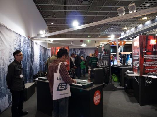 Musikmesse2014 ELEKTRONブース