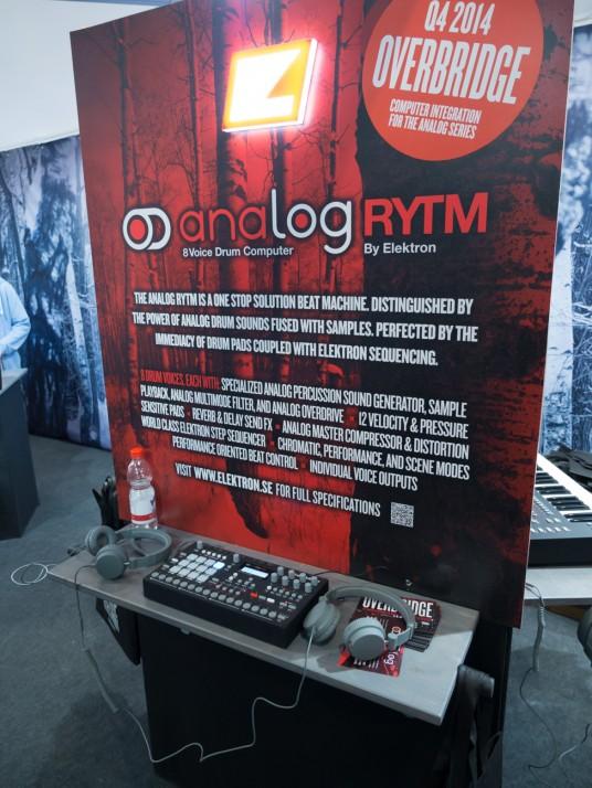 Musikmesse2014 ELEKTRON OVERBRIDGEを発表