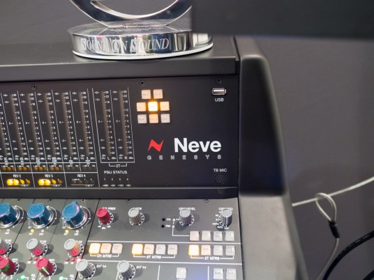 Musikmesse2014 AMS NEVE Genesys