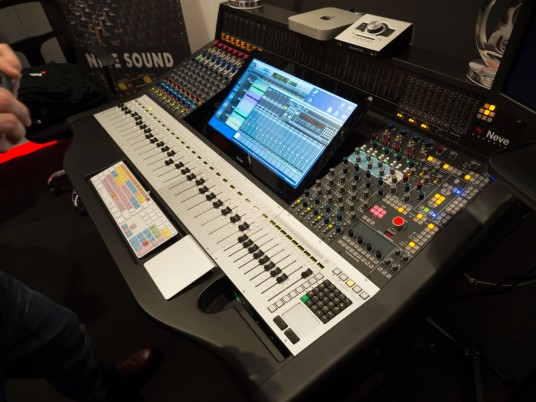 Musikmesse2014 AMS NEVE ブース