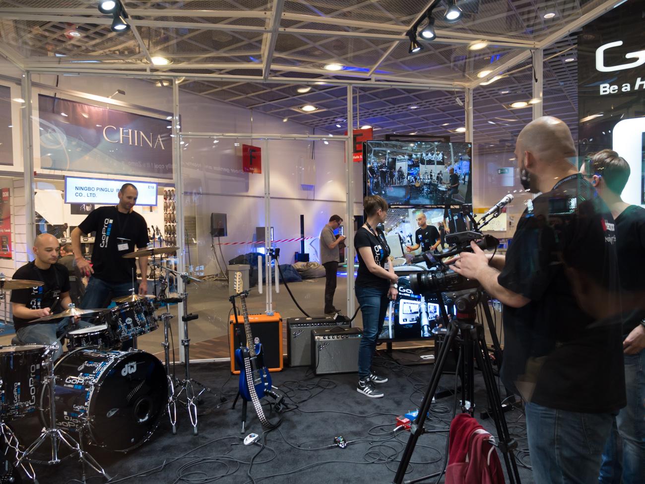 Musikmesse 2014 : GoPRo