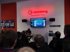 Musikmesse2014 Steinberg ブース