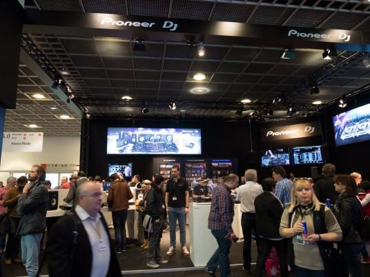 Musikmesse2014 Pioneerブース