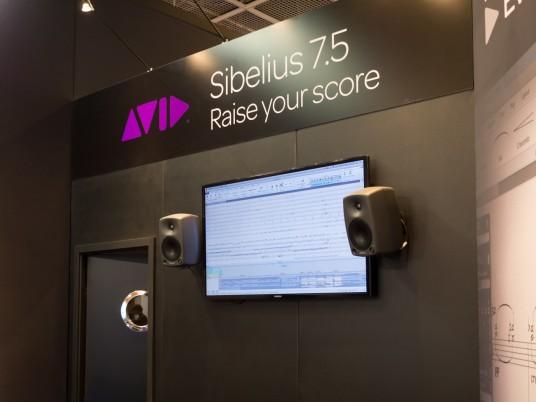 Musikmesse2014 AVID Sibelius 7.5
