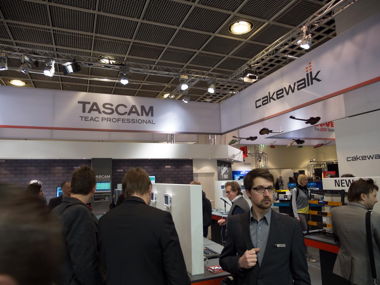 Musikmesse 2014 : TASCAM