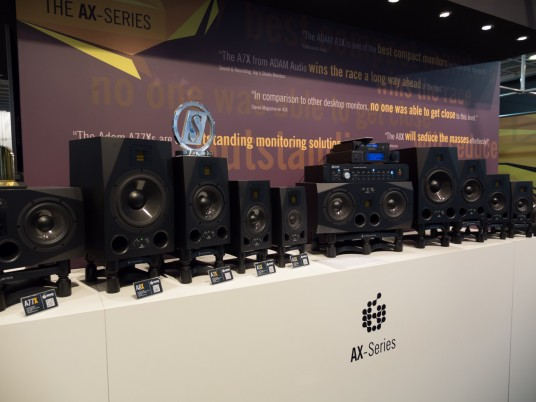 Musikmesse2014 ADAM Audio