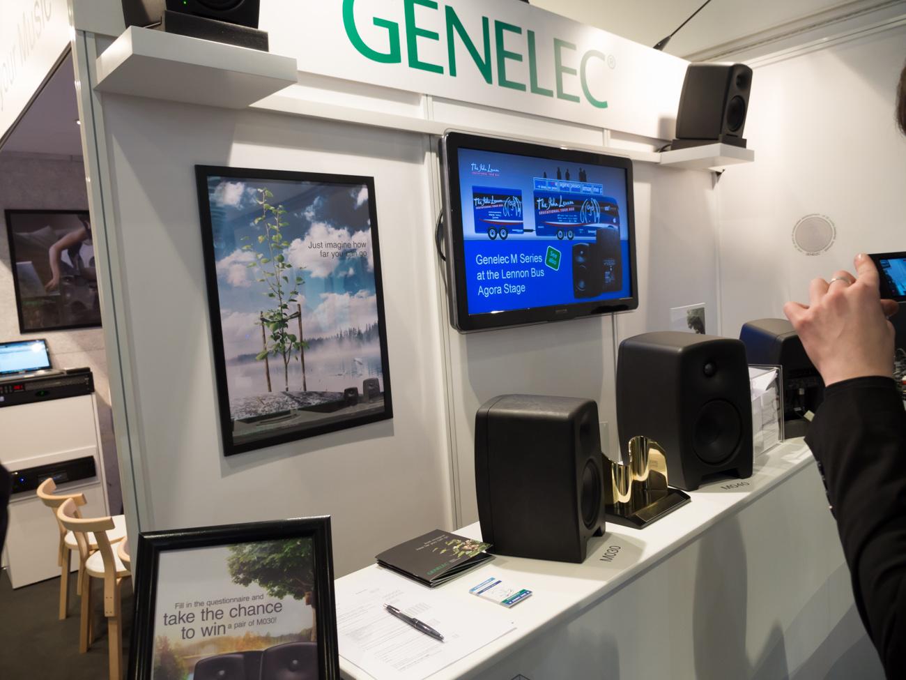 Musikmesse 2014:GENELEC