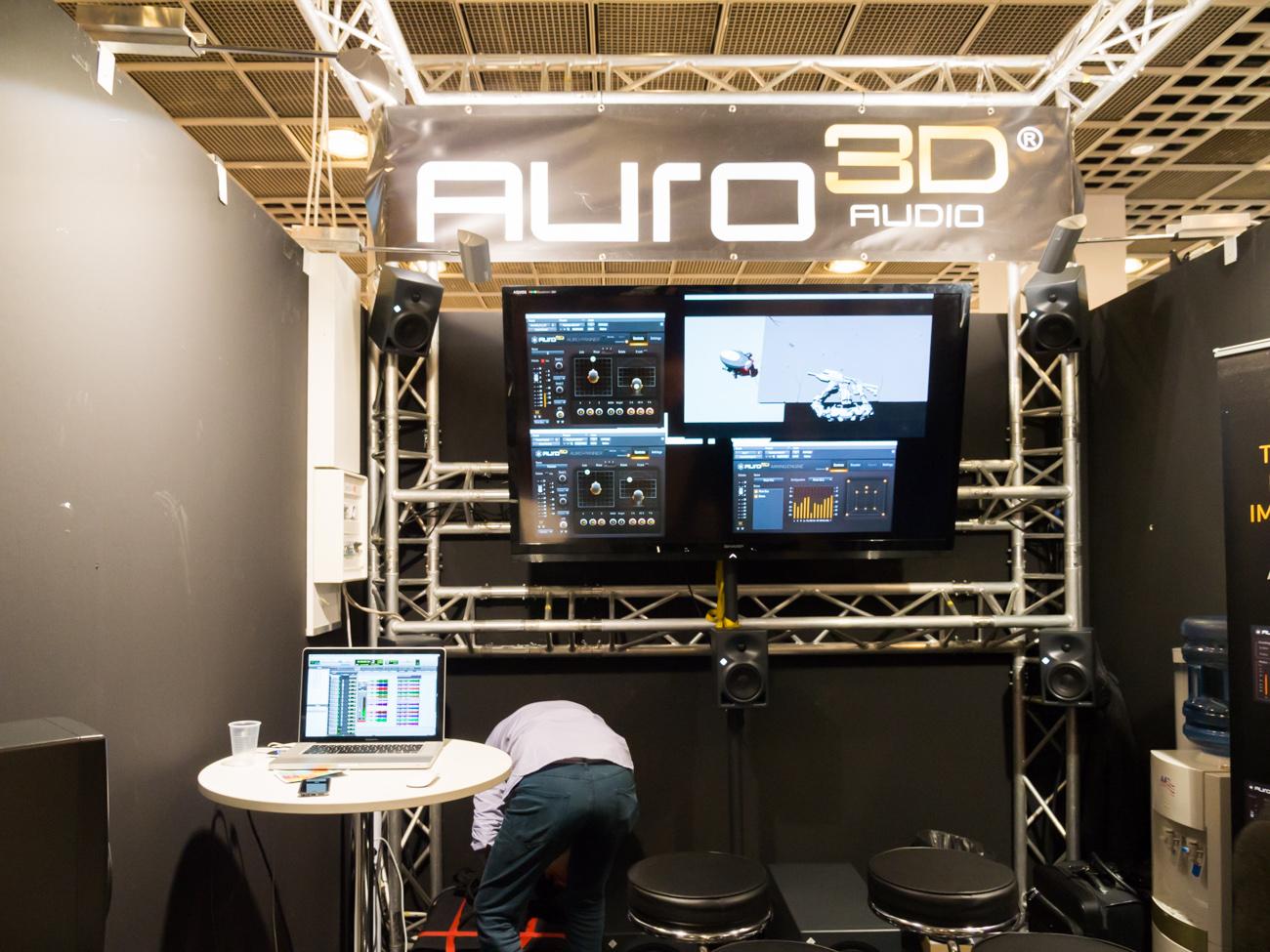 Musikmesse 2014 : AURO 3D