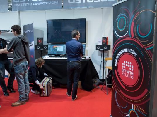 Musikmesse2014 BITWIG STUDIOブース
