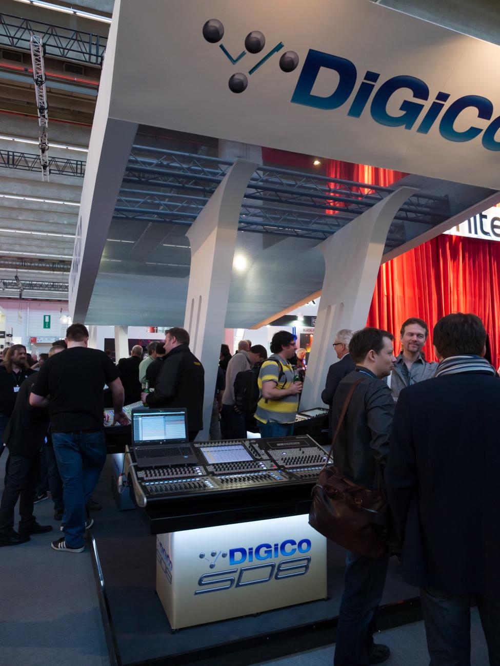 Musikmesse 2014 : DiGiCo