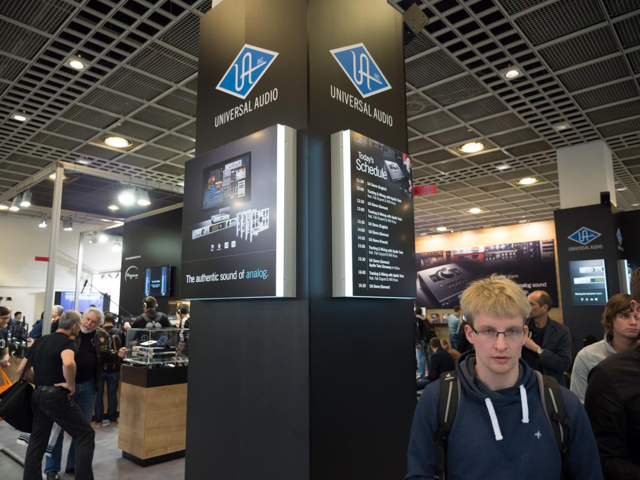 Musikmesse 2014 : Universal Audio