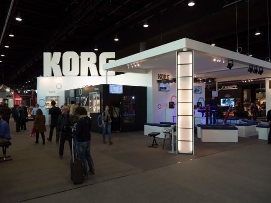 Musikmesse2014 ミュージックメッセ 2014 KORG NuVibe