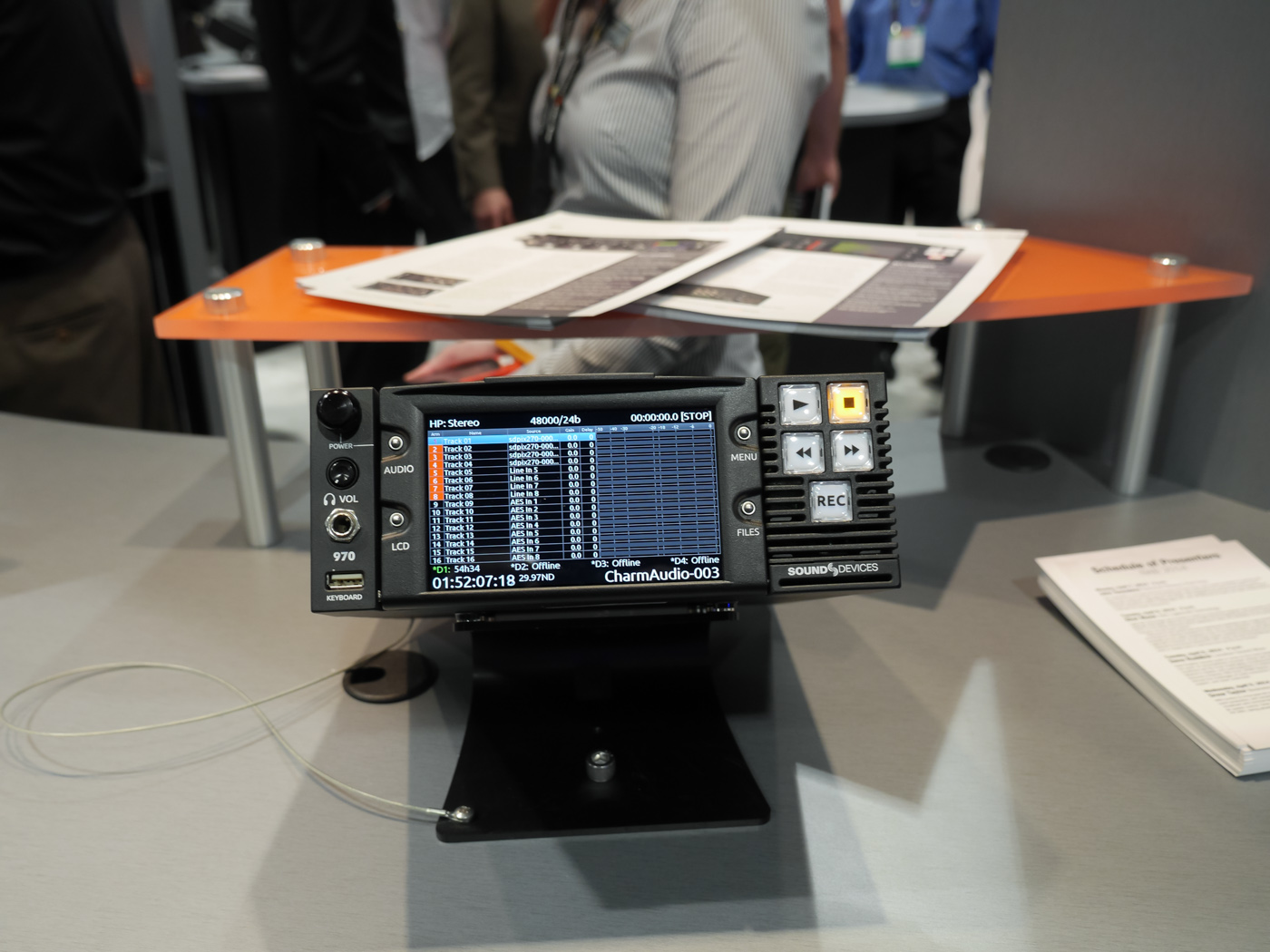 NAB 2014 : Sound Device