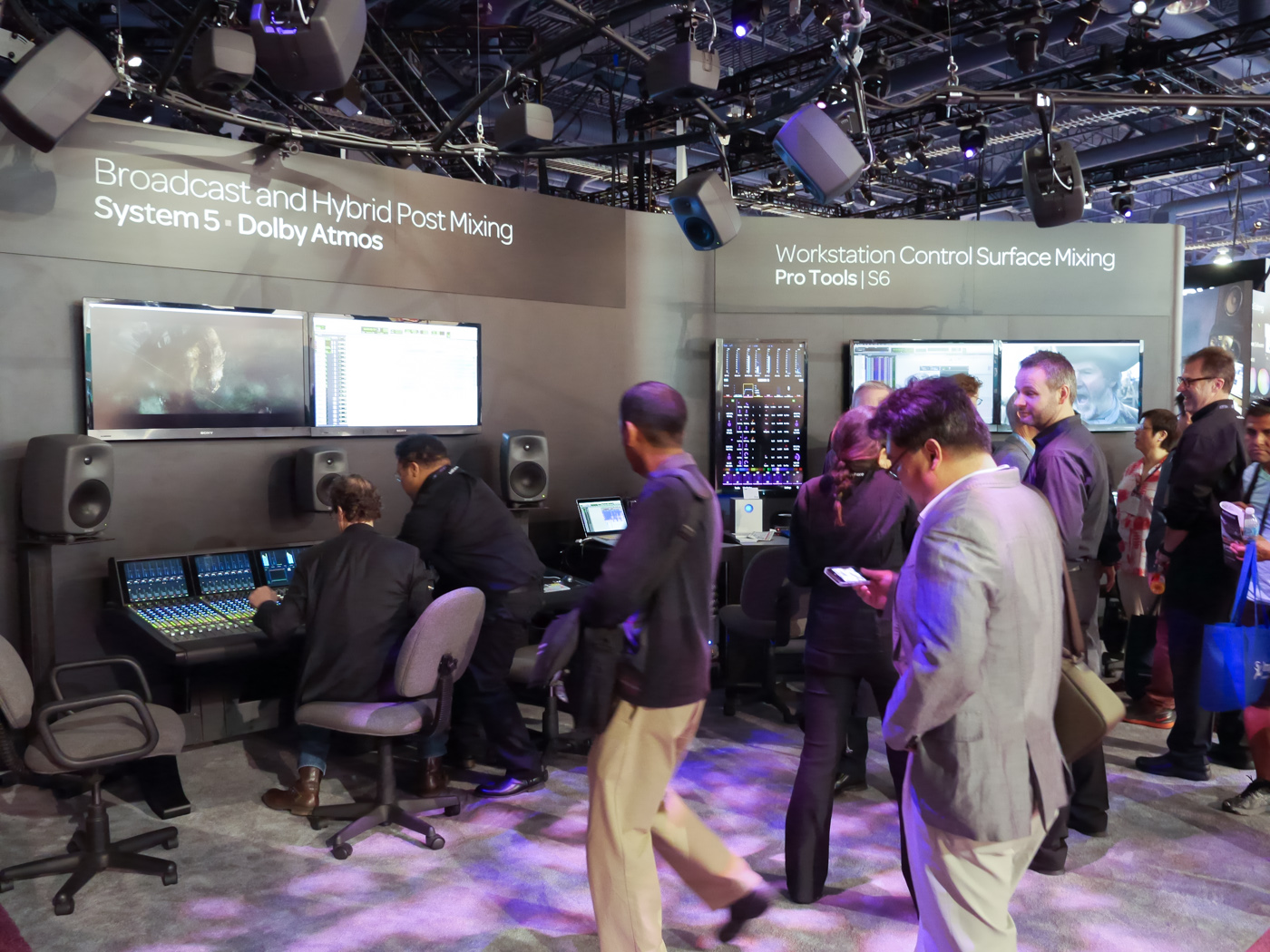 NAB 2014 : AVID 番外編 system 5 – Dolby ATMOS