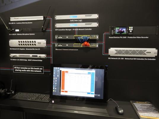 NAB2014 3day Solid State Logic SSL 113