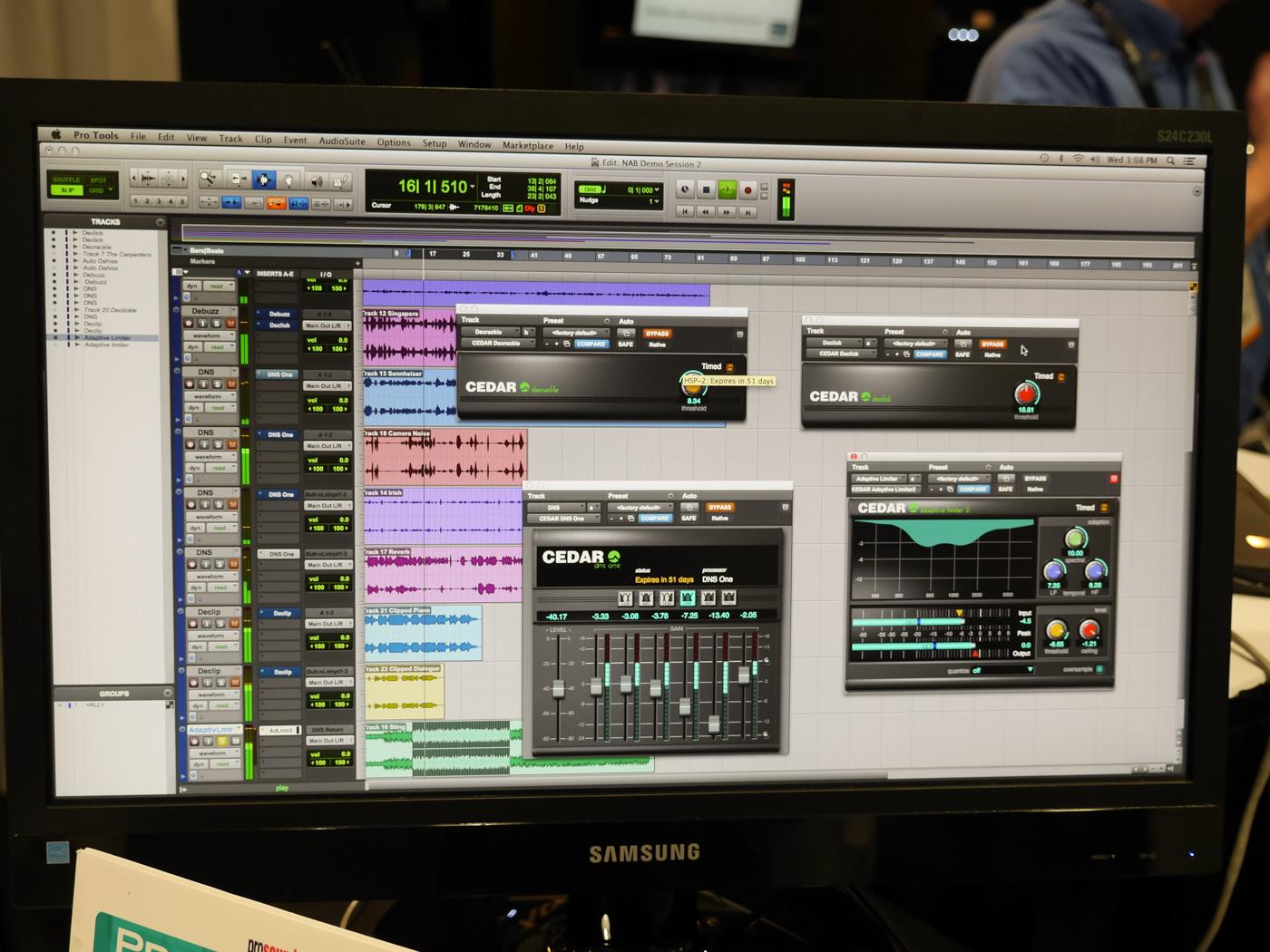NAB 2014 : CEDAR audio