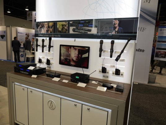 NAB2014 3day Audio-Technica 82