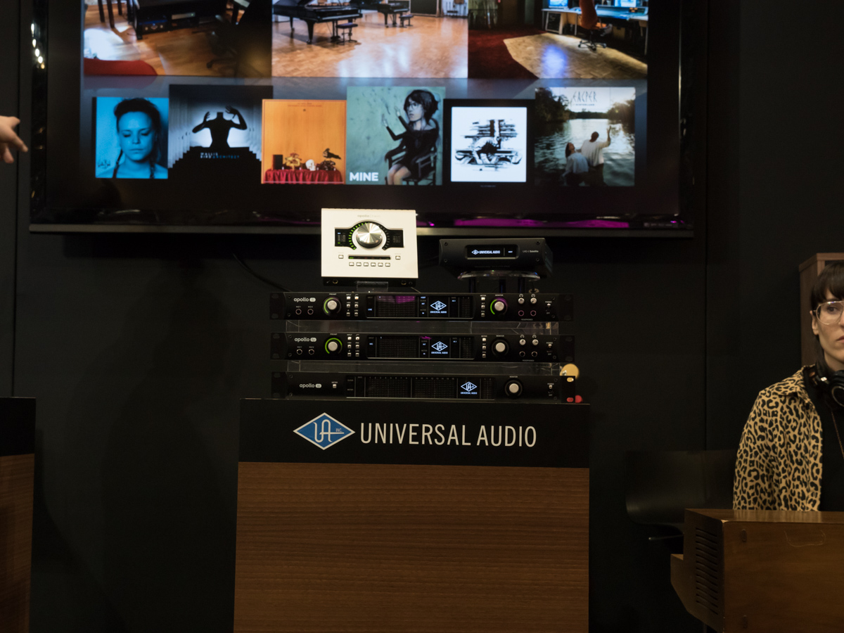 Musikmesse 2015 Day 1:Universal Audio (2)