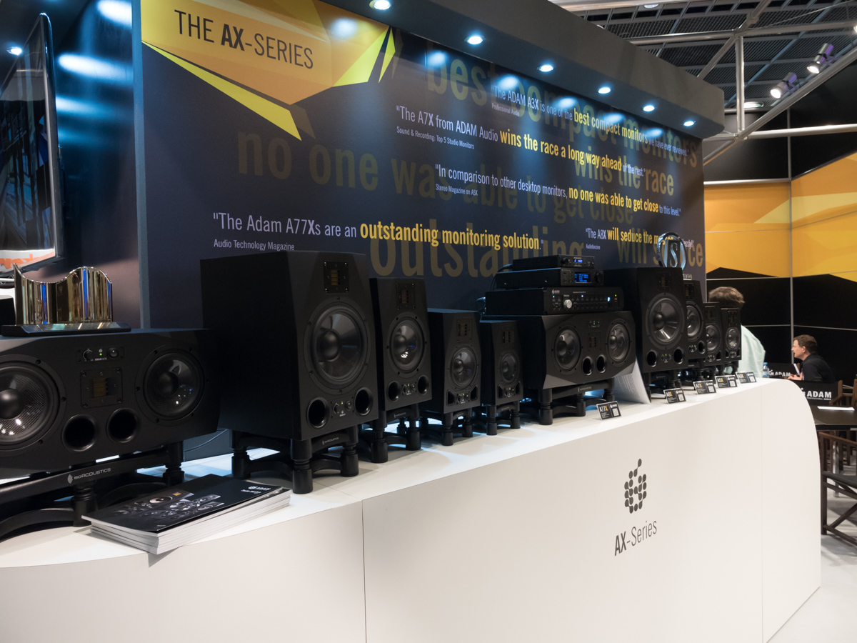 Musikmesse 2015 Day2 : ADAM Audio