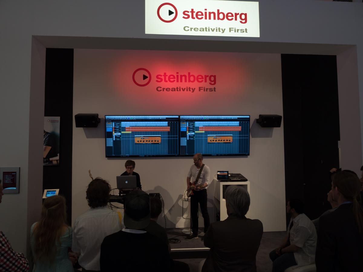 Musikmesse 2015 Day3 : Steinberg