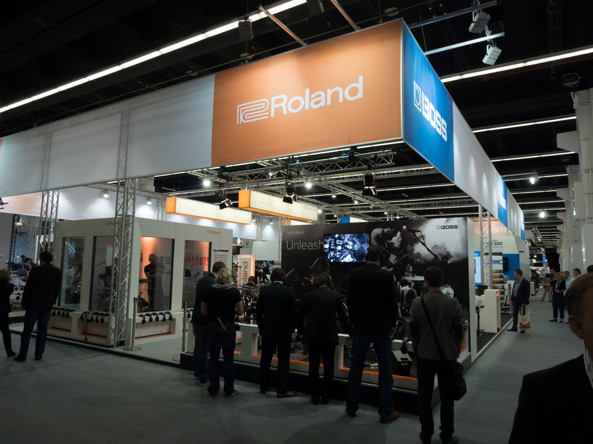 Musikmesse 2015 Day 1:Roland