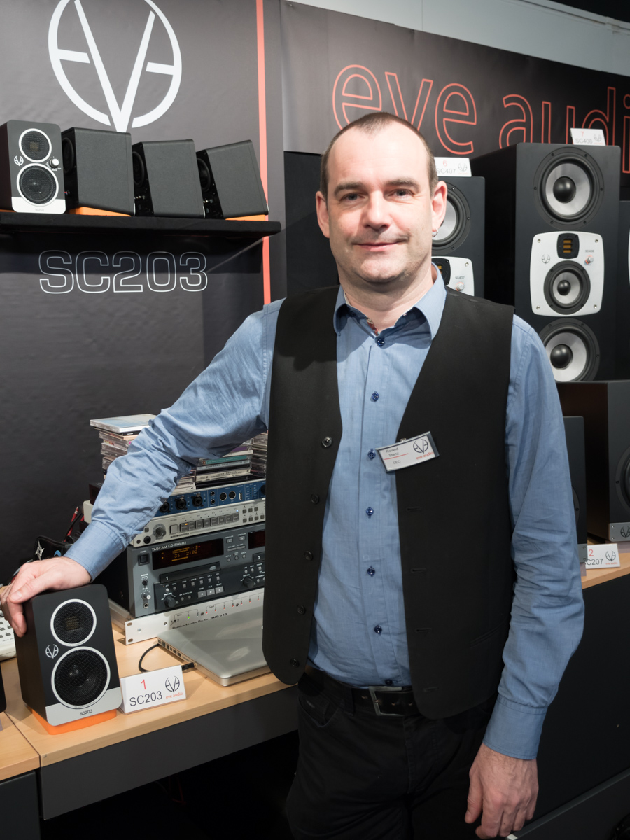 Musikmesse 2015 Day1 : EVE Audio