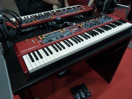Nord Stage 2 EX at Musikmesse 2015