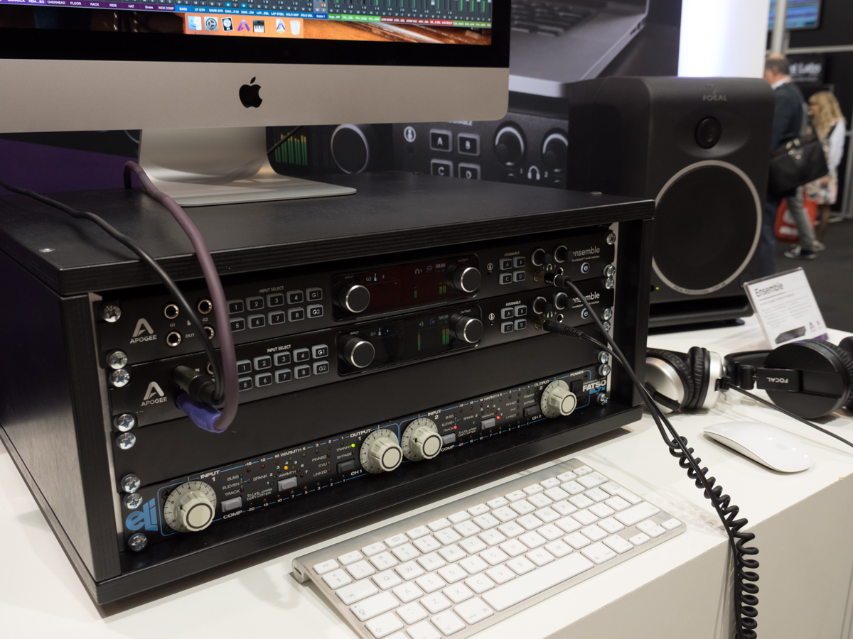 Musikmesse 2015 Day2 : Apogee