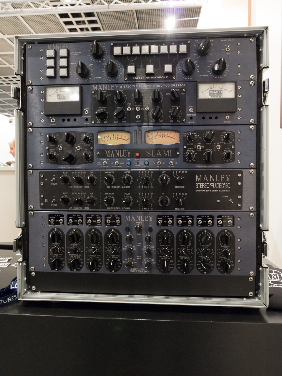 Musikmesse 2015 Day2 : Manley Labs